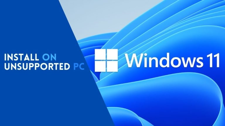 Install Windows 11 on Unsupported PC winpass11